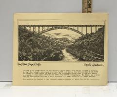 Print of New River Gorge Bridge