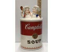 Campbell's Soup Cookie Jar